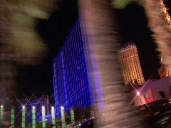 Driving Las Vegas Blvd 3A Stock Footage