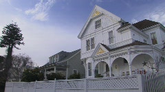 Beautiful Old Historic Home Stock Footage