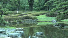 Tokyo Imperial Garden 15 Stock Footage