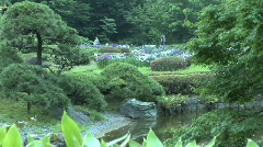Tokyo Imperial Garden 19 Stock Footage