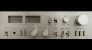 Amplifier 01A Stock Footage