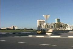 Quatar modern buildings Stock Footage