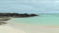 Seascape on the Galapagos Islands - stock footage