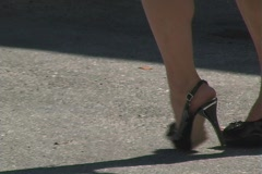 Sexy Feet-2 Stock Footage