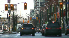 City traffic. Stock Footage