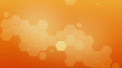 honeycomb intro - stock footage