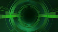 Stock Video Footage of digital tunnel