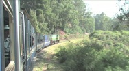 Heritage stream train Stock Footage