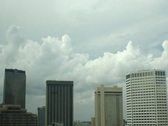 Stock Video Footage of New Orleans Skyline DV720 Time Lapse