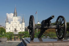 New Orleans 7-1A Zoom Time Lapse - stock footage