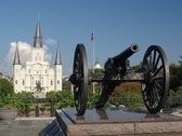 Stock Video Footage of New Orleans 7-1A Zoom Time Lapse