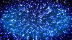 Starburst Blue Stock Footage