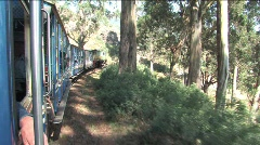 Heritage stream train - stock footage