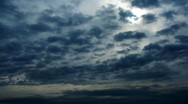 Stock Video Footage of time Lapse clouds.