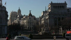 Madrid 01 Stock Footage