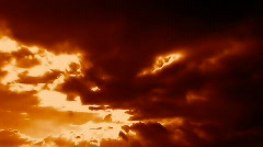 RedClouds Stock Footage