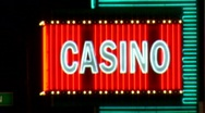 Neon Casino Anim Sign2 Stock Footage