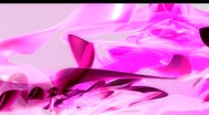 Stock Video Footage of Pink Organic 3D