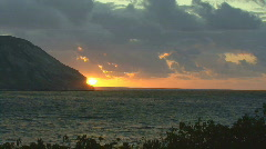 Time Lapse Sunrise Hawaii 503 Stock Footage