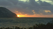 Stock Video Footage of Time Lapse Sunrise Hawaii 503