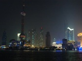 Stock Video Footage of Shanghai Nitescape Time Lapse DV720