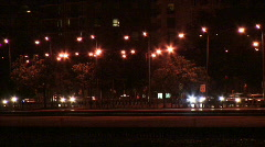 Chicago Lake Shore Drive at Night 01 - stock footage