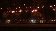 Chicago Lake Shore Drive at Night 01 Stock Footage