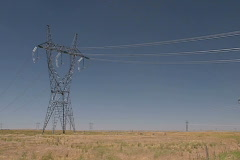 Power Grid 06 Stock Footage