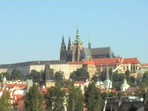 Stock Video Footage of Prague castle and Charles Bridge