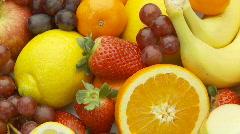 Fruits close loop part II Stock Footage
