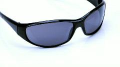 Sun glasses Stock Footage