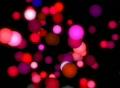 VJ Loop 391 3D Pink Balls Footage