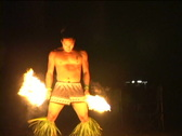 Stock Video Footage of Hawaiian Fire Dancer Series