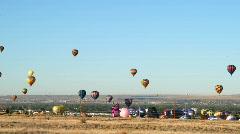 Balloon Fiesta 03 Time Lapse Stock Footage