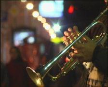 Trumpet. - stock footage