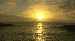 Time Lapse Sunset Hawaii 601 Stock Footage