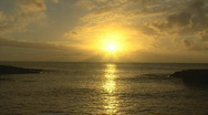 Stock Video Footage of Time Lapse Sunset Hawaii 601