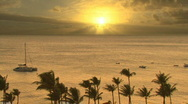 Stock Video Footage of Time Lapse Sunset Hawaii 602