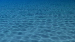 Caustics light pattern under sea - stock footage