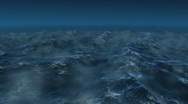 Stock Video Footage of Stormy ocean 3d render