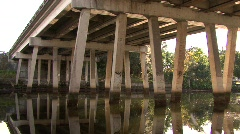 Bridge Over Hillsborough River - stock footage