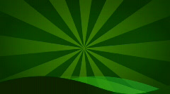 Loopable Green retro background Stock Footage