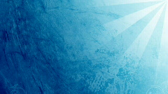 Blue flourish background with rays Stock Footage