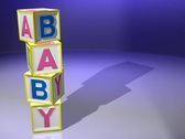 Stock Video Footage of Baby Blocks