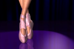 Ballerina - stock footage
