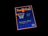 Stock Video Footage of Basketball Magazine Wipe