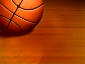 Basketball On Court Stock Footage