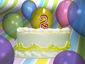 Birthday Cake 2 Stock Footage