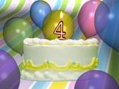 Birthday Cake 4 Stock Footage