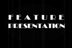 Feature Presentation Stock Footage